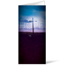 Hope Starts Here Bulletin