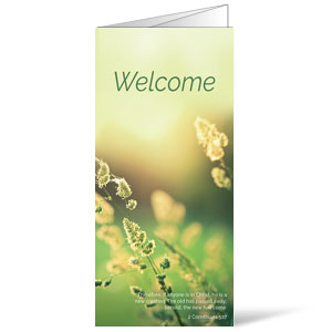 Welcome Season Spring Bulletins