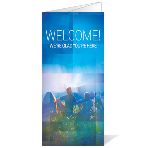 Modern Mosaic Welcome Bulletins