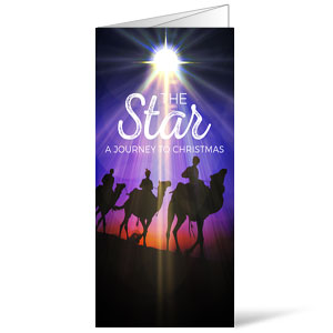 The Star: A Journey to Christmas Bulletins