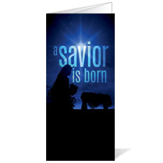 Blue Savior Born Bulletin
