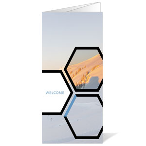 Welcome Hexagon Winter Bulletins
