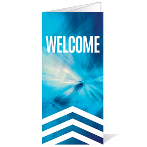 Chevron Welcome Blue Bulletins