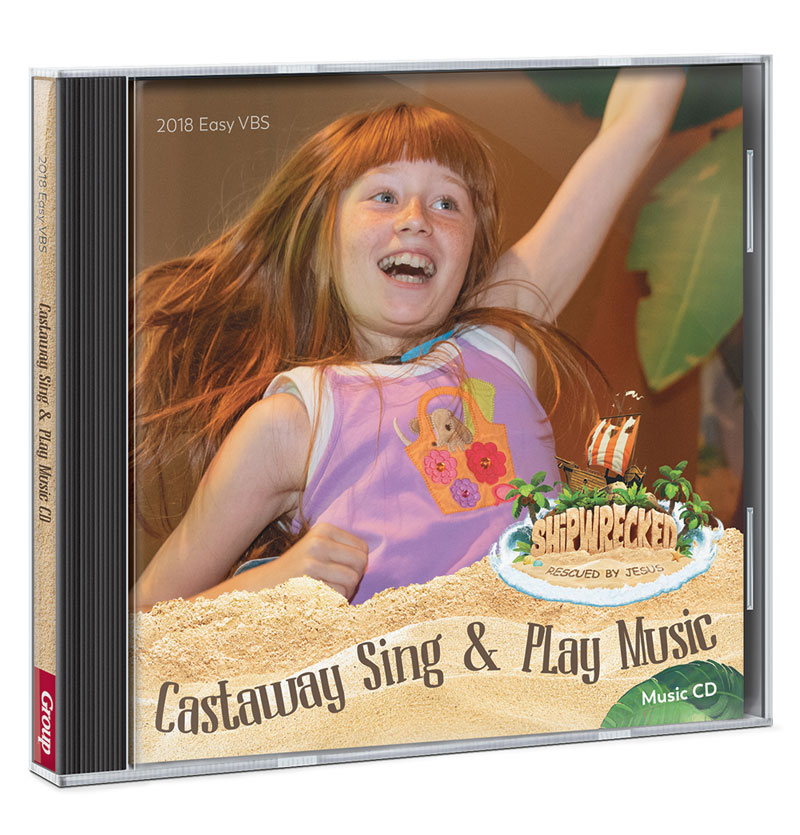 Shipwrecked Sing and Play CD