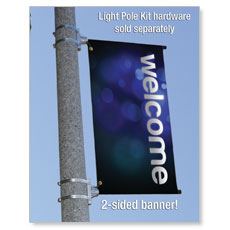 Light Pole Banner Banner