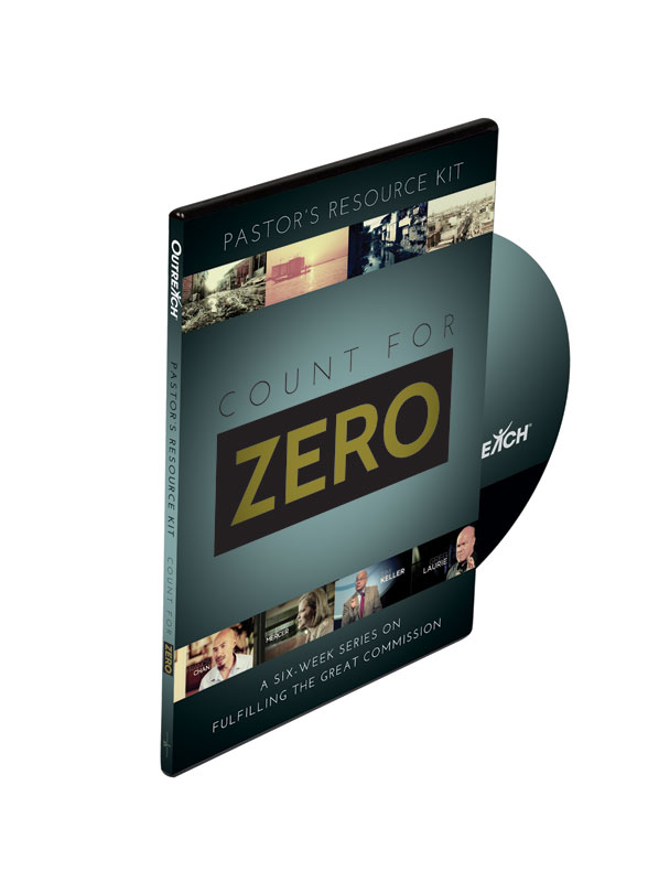Campaign Kits, Count for Zero, Count for Zero Pastors Church Kit