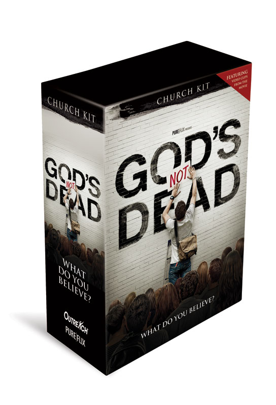 Campaign Kits, Gods Not Dead, Gods Not Dead Church Kit