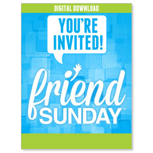 Friend Sunday Event Campaign Kits