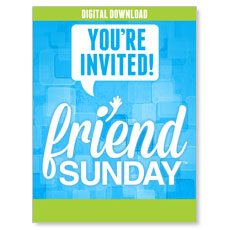 Friend Sunday Event Campaign Kit