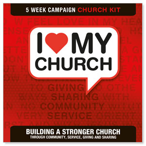 I Love My Church Digital Church Kit Campaign Kits