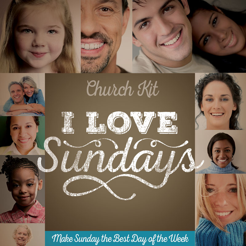 """I Love Sundays"" Church Kit"