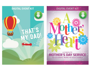 Mother's Heart/That's My Dad Combo Digital Kit Campaign Kits