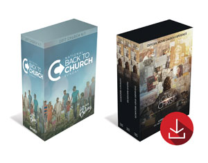 Back to Church Case for Christ Combo Campaign Kits