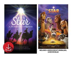 The Star Advent Combo with Kids Series Church Kit Campaign Kits