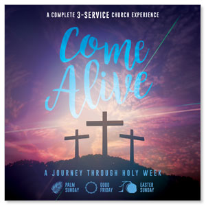 Come Alive Easter Digital Church Kit Campaign Kits