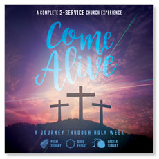 Come Alive Easter Journey Campaign Kit