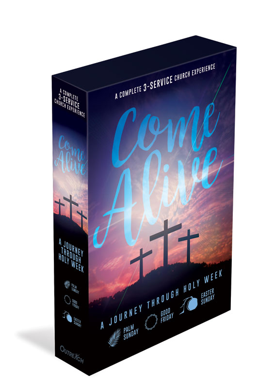 Campaign Kits, Easter, Come Alive Church Kit