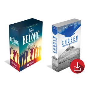 BTCS You Belong Here & Chosen Combo - digital Campaign Kits