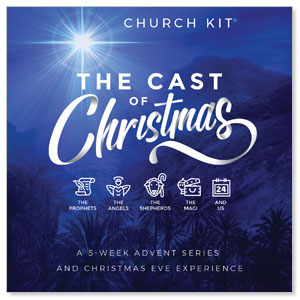 The Cast of Christmas - digital kit Campaign Kits