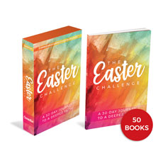 The Easter Challenge Kit and 50 Book Bundle