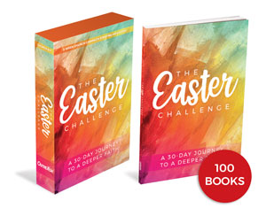 The Easter Challenge Kit and 100 Book Bundle Campaign Kits