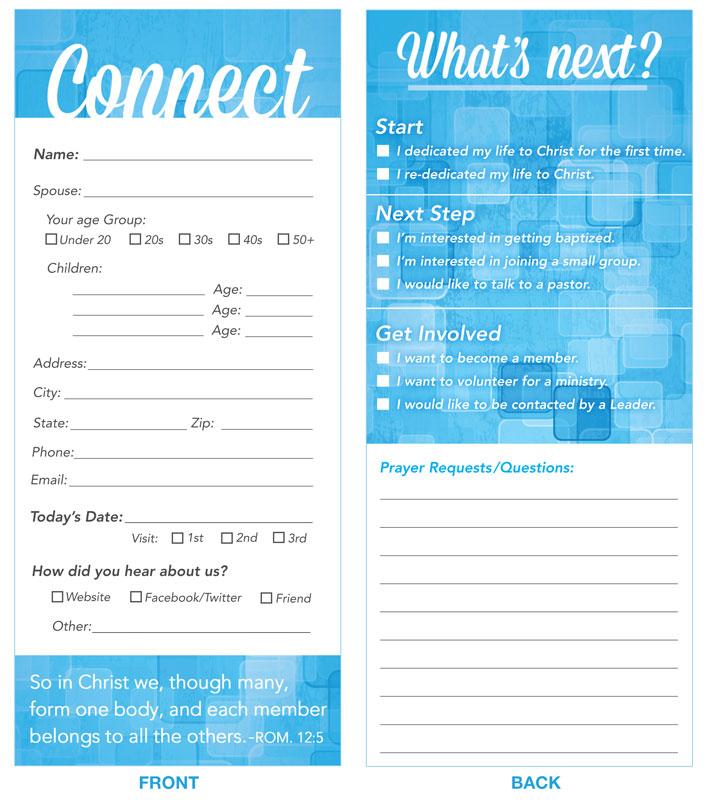 free church visitor card templates   trattorialeondoro