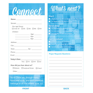 Connection Card Blue Other