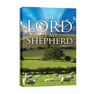 Lord My Shepherd 24in x 36in Canvas Prints