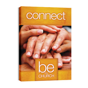 Be the Church Connect 24in x 36in Canvas Prints