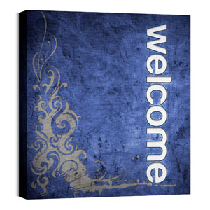 Adornment Welcome 24 x 24 Canvas Prints
