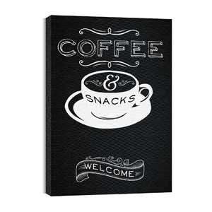 Chalk Coffee Wall Art