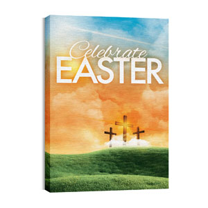 Easter Landscape Wall Art