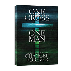 One Cross M 24in x 36in Canvas Prints