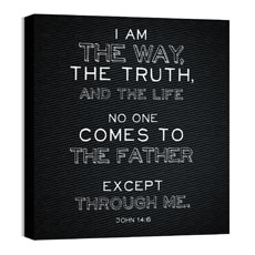 Chalk Jn 14:6 Wall Art