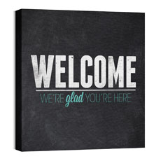 Slate Welcome Wall Art
