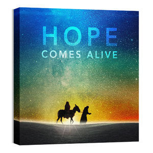 Hope Comes Alive Wall Art