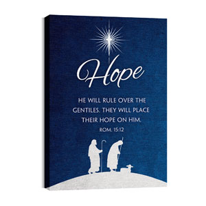 Advent Hope 24in x 36in Canvas Prints
