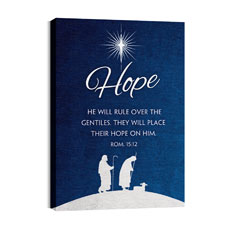 Advent Hope Wall Art