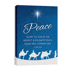 Advent Peace 24in x 36in Canvas Prints