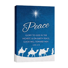 Advent Peace Wall Art