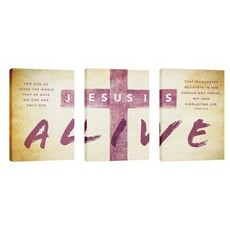 Alive Triptych Wall Art