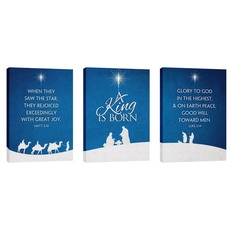 Christmas Silhouette Wall Art