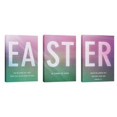 Easter Color Triptych