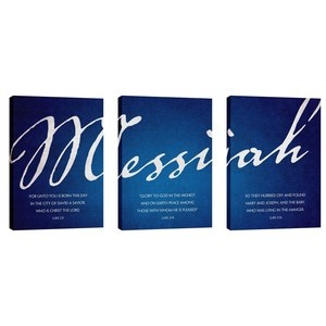 Messiah Triptych Wall Art