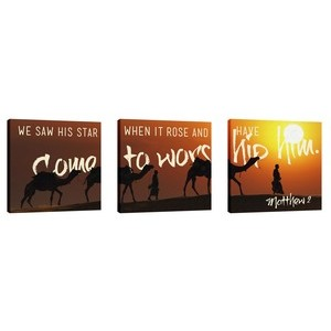 Come To Worship Him Wall Art