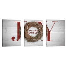 Joy Twig Wreath Wall Art