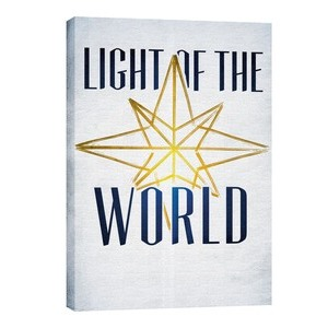 Light of the World Star M 24in x 36in Canvas Prints