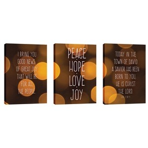 Good News Great Joy 24in x 36in Canvas Prints