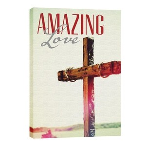 Amazing Love Cross Wall Art
