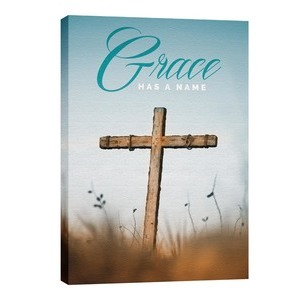 Grace Has A Name M 24in x 36in Canvas Prints